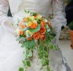 Esküvői csokor - Virágdekoráció - Illusion virág
