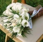 Esküvő zöld és fehér színekkel