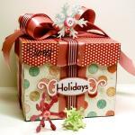 Karácsonyi ajándékok egyedi, kreatív csomagolása