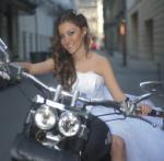 Motoros esküvő